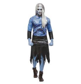 Winter Warrior Zombie Costume, Blue