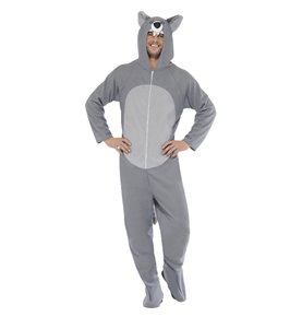 Wolf Costume, Grey