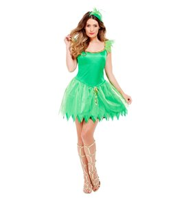 Woodland Fairy Costume, Green