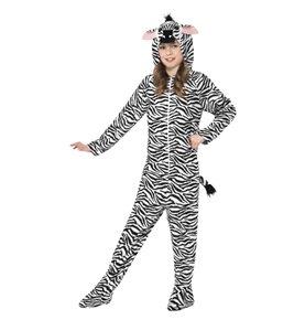 Zebra Costume, Black & White