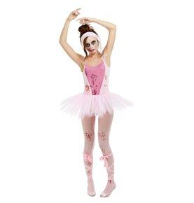 Zombie Ballerina Costume, Pink