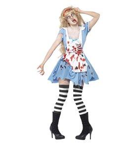 Zombie Malice Costume, Blue