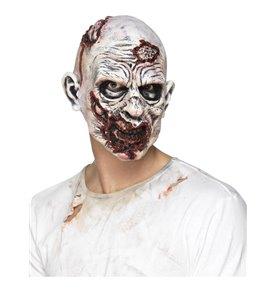 Zombie Mask, Foam Latex, Multi-Coloured