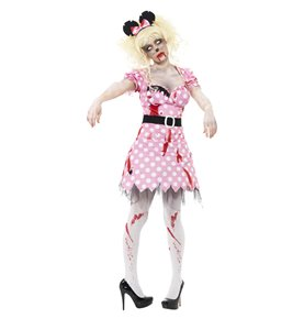 Zombie Rodent Costume, Pink