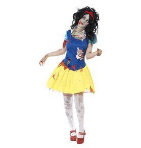 Zombie Snow Fright Costume, Blue