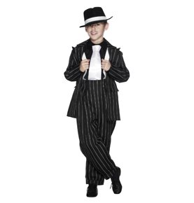 Zoot Suit Costume, Black
