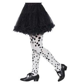 Dalmatian Tights, Childs, Black & White